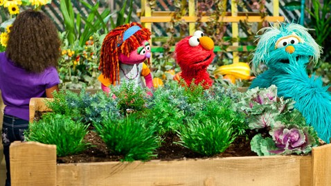 ht sesame street dm 111005 wblog Sesame Street Debuts New Character for Tough Economic Times