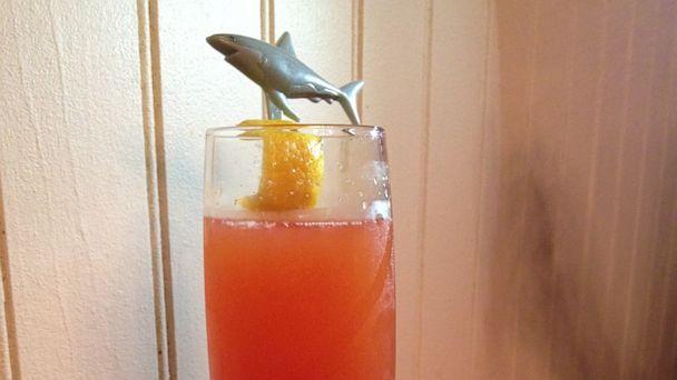 PHOTO: Shark Bite cocktail