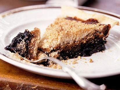 PHOTO: Cooking Lights shoofly pie is shown here.