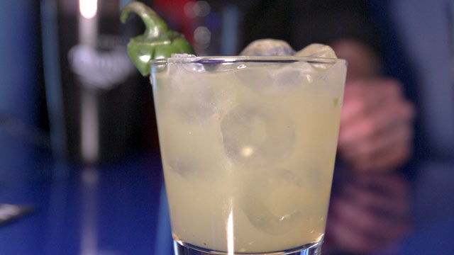 PHOTO: The spicy Smoking Margarita is shown here.