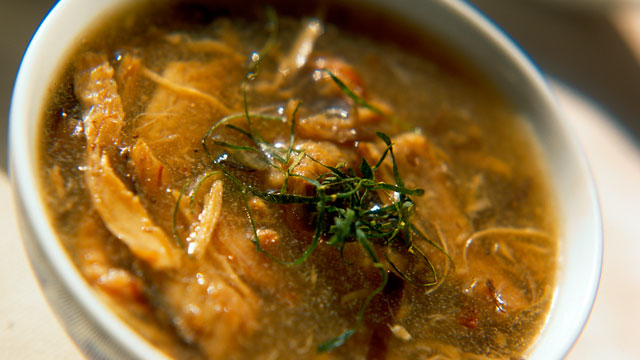 PHOTO: Snake soup, a popular dish in Hong Kong, is shown here.