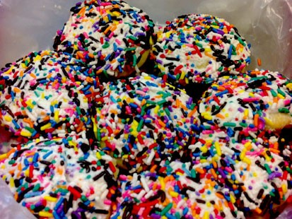 PHOTO: Jeff Swartzs sprinkle cookies are shown here.