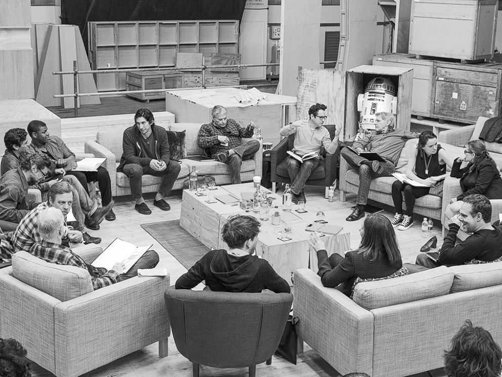 PHOTO: The cast of Star Wars: Episode VII was announced April 29, 2014.