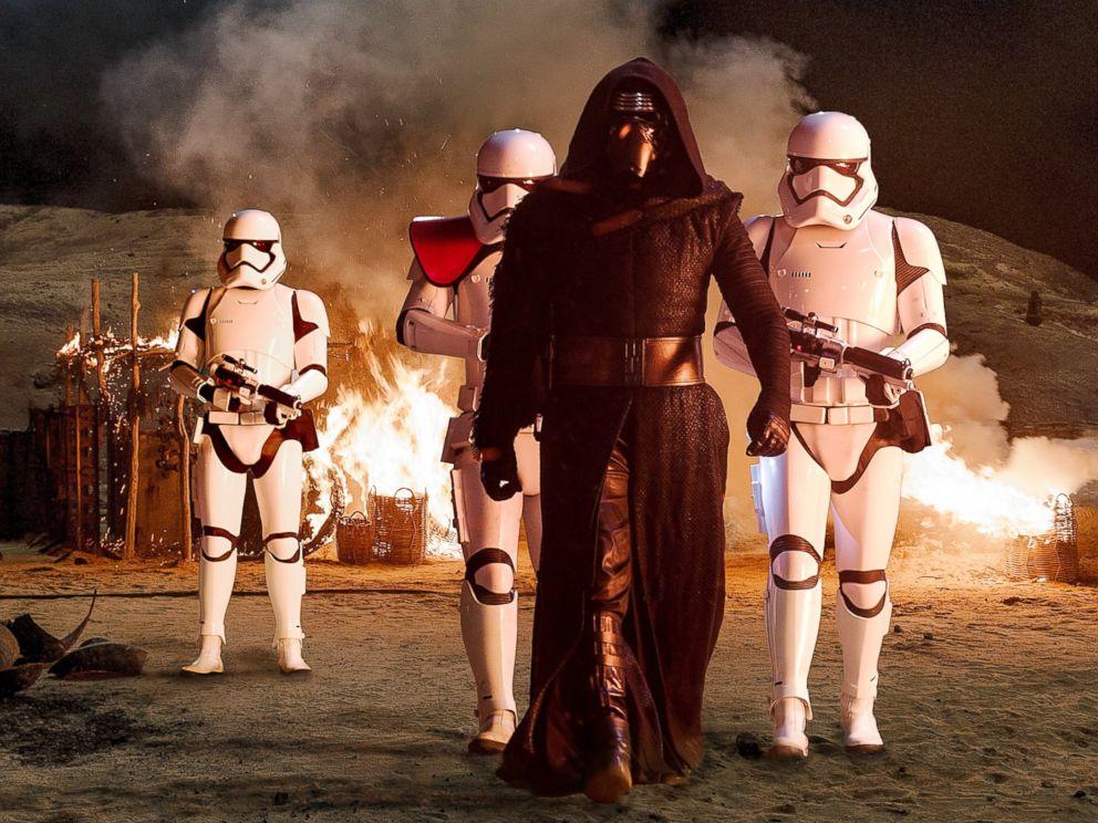 PHOTO: Adam Driver plays Kylo Ren in Star Wars: The Force Awakens.