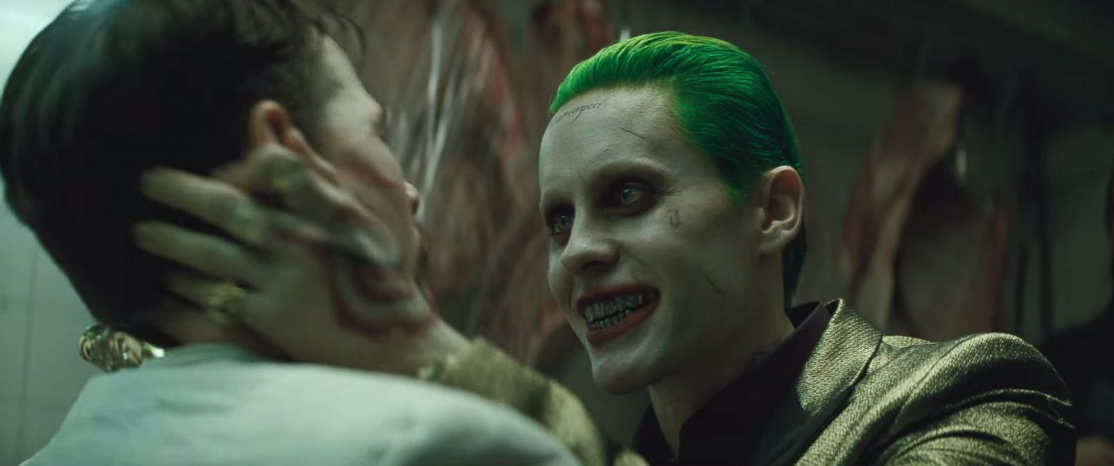 """PHOTO: Jared Ledo is pictured in an image made from the official """"Suicide Squad"""" trailer posted to YouTube on Jan. 19, 2016."""