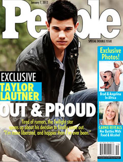 ht taylor lautner dm 111227 vblog Fake People Cover Claims Taylor Lautner Is Out and Proud