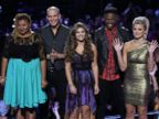 PHOTO: Stephanie Anne Johnson, Josh Logan, Jacquie Lee, Matthew Schuler and Olivia Henken are shown in the Nov. 5, 2013 episode of The Voice.