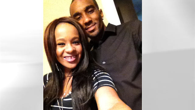 PHOTO: Nick Gordon posted this image of himself and Bobbi Kristina Brown on Twitter March 12, 2012.