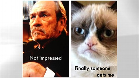 ht tommy lee jones2 jp 130114 wblog Tommy Lee Jones Had the Best Meme of the Golden Globes