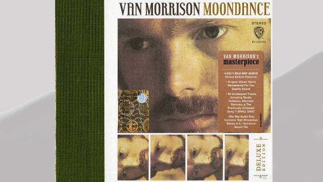 PHOTO: Van Morrison's Moondance album cover