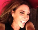 PHOTO: David Beckham posted a smiling candid photo of his wife, Victoria, to his Facebook, June 23, 2013.