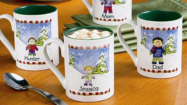 PHOTO: Walmart personalized mugs