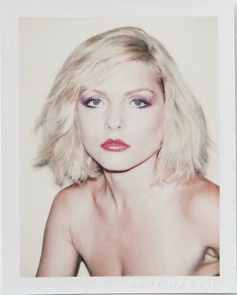 ht warhol debbie harry ll 120220 vblog Andy Warhols Polaroid Portraits