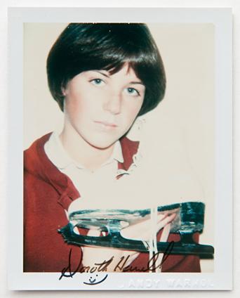 ht warhol dorothy hamill ll 120220 vblog Andy Warhols Polaroid Portraits
