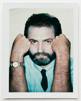 ht warhol gianni versace ll 120220 vblog Andy Warhols Polaroid Portraits