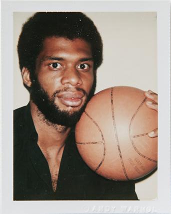 ht warhol kareem abdul jabbar ll 120220 vblog Andy Warhols Polaroid Portraits