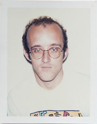 ht warhol keith haring ll 120220 vblog Andy Warhols Polaroid Portraits