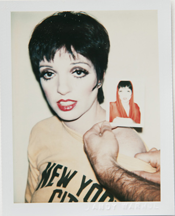 ht warhol liza minnelli ll 120220 vblog Andy Warhols Polaroid Portraits