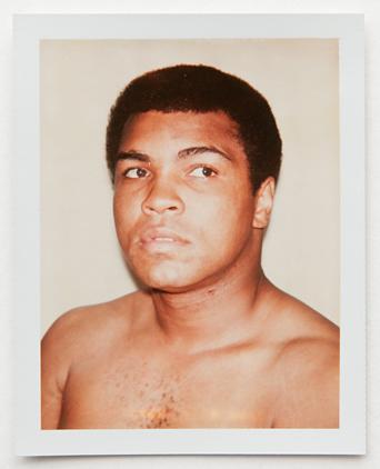 ht warhol muhammad ali ll 120220 vblog Andy Warhols Polaroid Portraits