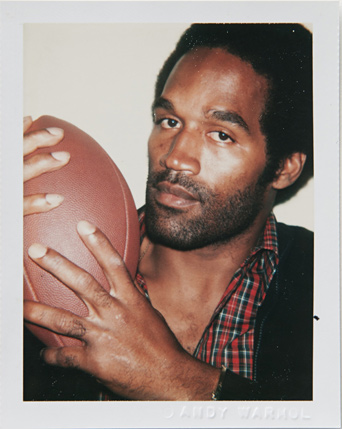 ht warhol oj simpson ll 120220 vblog Andy Warhols Polaroid Portraits