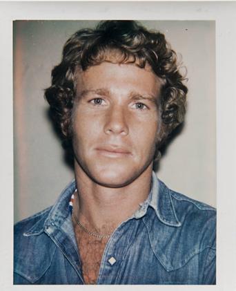 ht warhol ryan oneal ll 120220 vblog Andy Warhols Polaroid Portraits