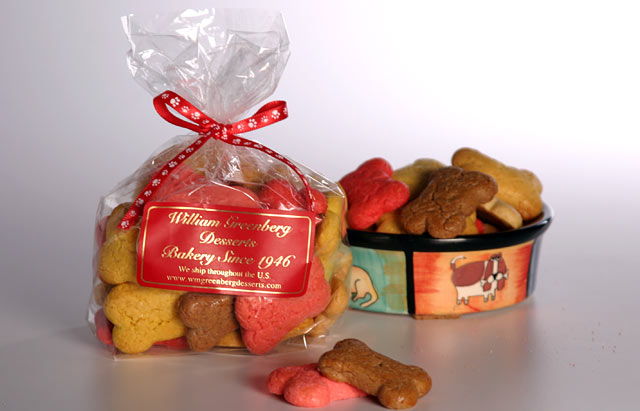 PHOTO: William Greenberg Bakery's dog treats are shown here.