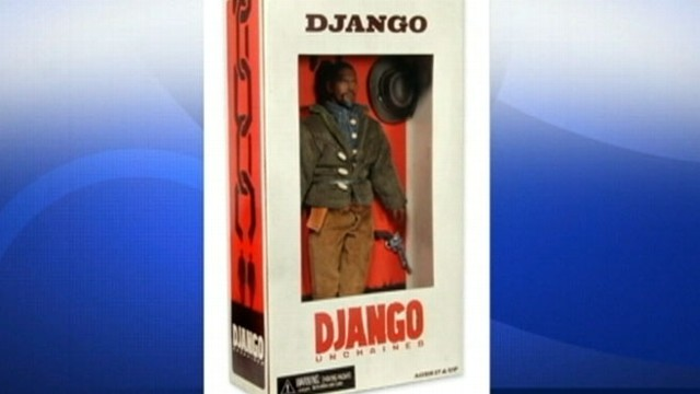 VIDEO: Django Unchained action figures spark controversy.