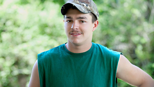 "PHOTO: Shain Gandee, seen in this undated publicity photo from the MTV show, ""Buckwild"", was reported missing on April 1, 2013 in Sissonville, West Va."