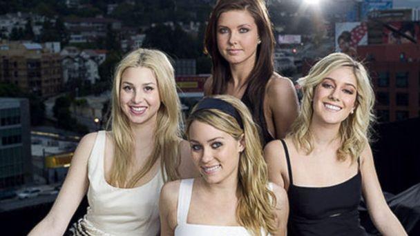 PHOTO: Season 1 cast of The Hills on MTV starring Lauren Conrad, Heidi Montag, Audrina Partridge and Lo Bosworth.