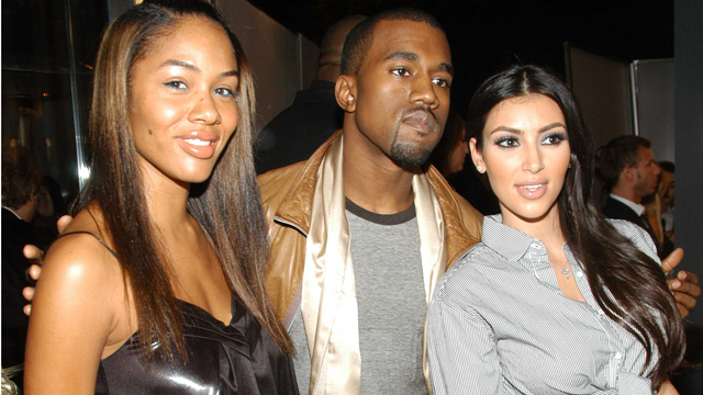 PHOTO: Alexis Pfeiffer, Kanye West and Kim Kardashian at Intermix Los Angeles