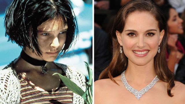 "PHOTO: Natalie Portman stars as Mathilda in ""The Professional."" Natalie Portman, right, arrives at the 84th Annual Academy Awards held at Hollywood & Highland Centre on Feb. 26, 2012 in Hollywood, Cali."