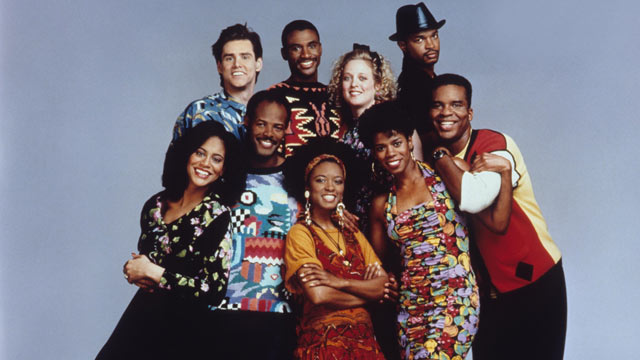 """PHOTO: The cast of the 1990's TV show """"In Living Color"""" are seen here in this undated file photo."""