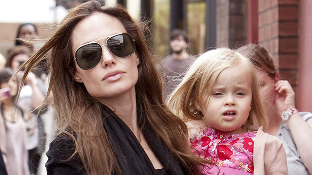 "PHOTO: Vivienne Jolie-Pitt reportedly got $3,000/week for her role in ""Maleficent."""
