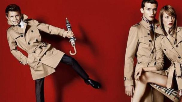 PHOTO: Romeo Beckham, left, stars in Burberrys Spring/Summer 2013 ad campaign.
