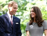 PHOTO: Britains Prince William and his wife Catherine, Duchess of Cambridge, attend a tree planting ceremony at Rideau Hall in Ottawa, July 2, 2011.