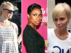 PHOTO: Pamela Anderson, Jennifer Hudson and Kristin Chenoweth are all rocking the latest hair trend: pixie cuts!