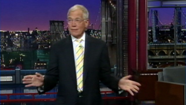 VIDEO: David Letterman returns after an online threat from Islamic extremists.