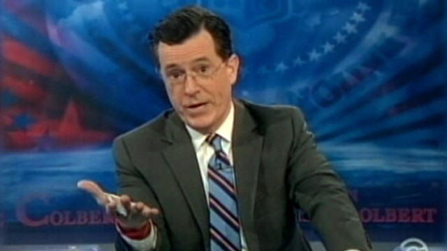 VIDEO: Stephen Colbert returns to The Colbert Report.