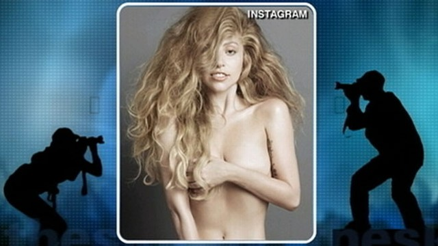VIDEO: The singer goes without clothes in photo spread; new album ARTPOP drops in November.
