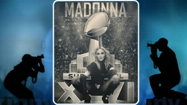 VIDEO: Madonna will reportedly sing Vogue and Holiday at the Super Bowl.