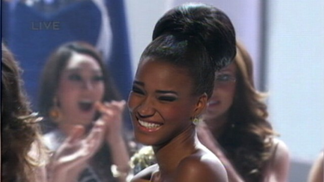 VIDEO: Miss Angola, Leila Lopes, beat out contestants from 88 other countries to win Miss Universe 2011.