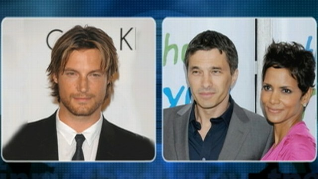 VIDEO: Gabriel Aubry held on a misdemeanor battery after a fistfight with the actress current fiance, Olivier Martinez.
