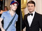 PHOTO: Daniel Radcliffe is seen leaving the theater in London on July 16, 2013, and at right, in the press room at Loews Hollywood Hotel during the Oscars on February 24, 2013 in Hollywood, Calif.