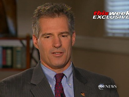 VIDEO: U.S. senator Scott Brown tells Barbara Walters about his difficult childhood.