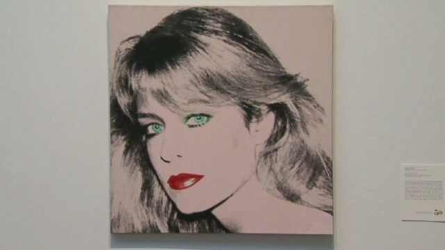 VIDEO: Fawcetts long time love and her alma mater are fighting over portraits created by Andy Warhol.