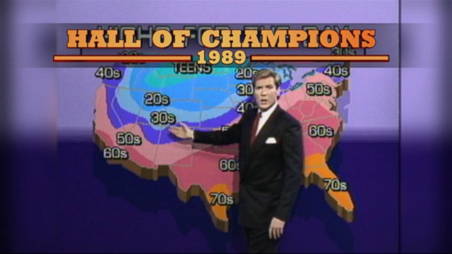 GMA weather editor reflects back on his 25 years with the ABC family.