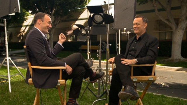 VIDEO: The Oscar winner discusses taking on the role of Walt Disney.