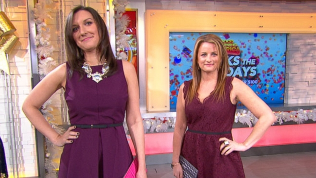 VIDEO: Redbook helps you rock the holidays with six festive dresses for bargain prices.