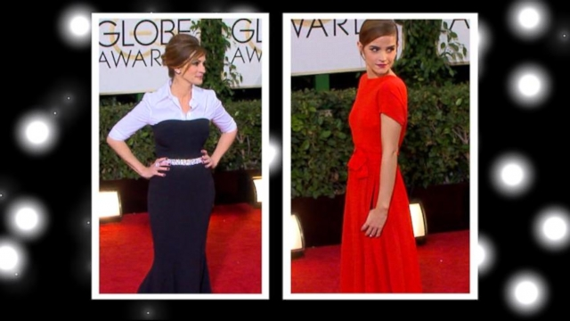 VIDEO: Both actresses were sporting two-looks-in-one with their daring dresses.