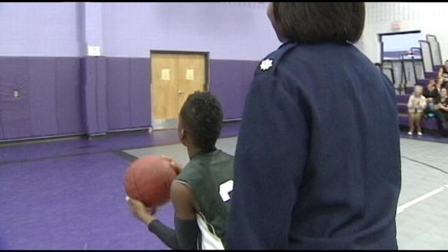 VIDEO: Military Moms Surprise Reunion at Sons Basketball Game